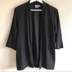 ASOS Black Open Front Blazer